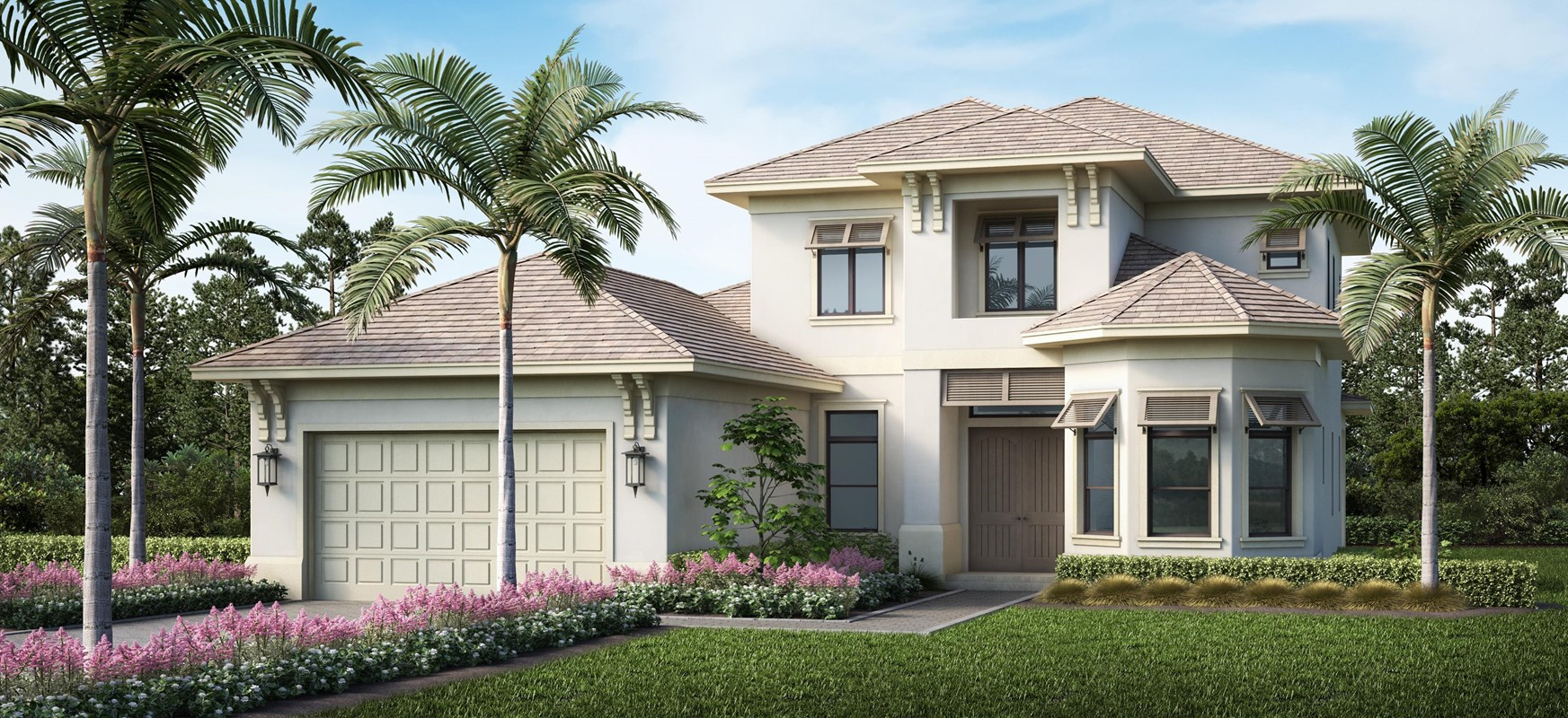 Stock Signature Homes Opens New Furnished Models  And Clubhouse At Hidden Harbor