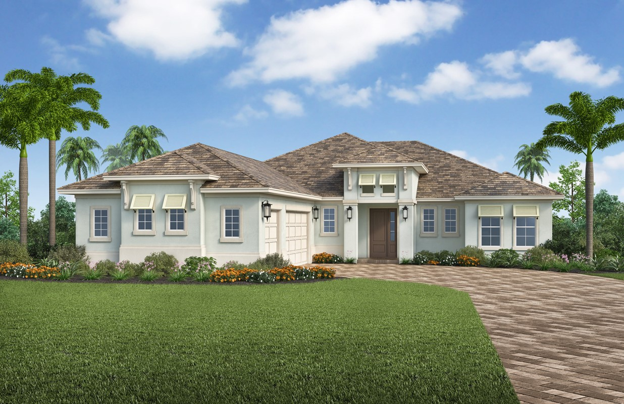 Stock Releases Canoe Landing Neighborhood In Naples Reserve: Beautiful Home & Homesite Packages From the $460's