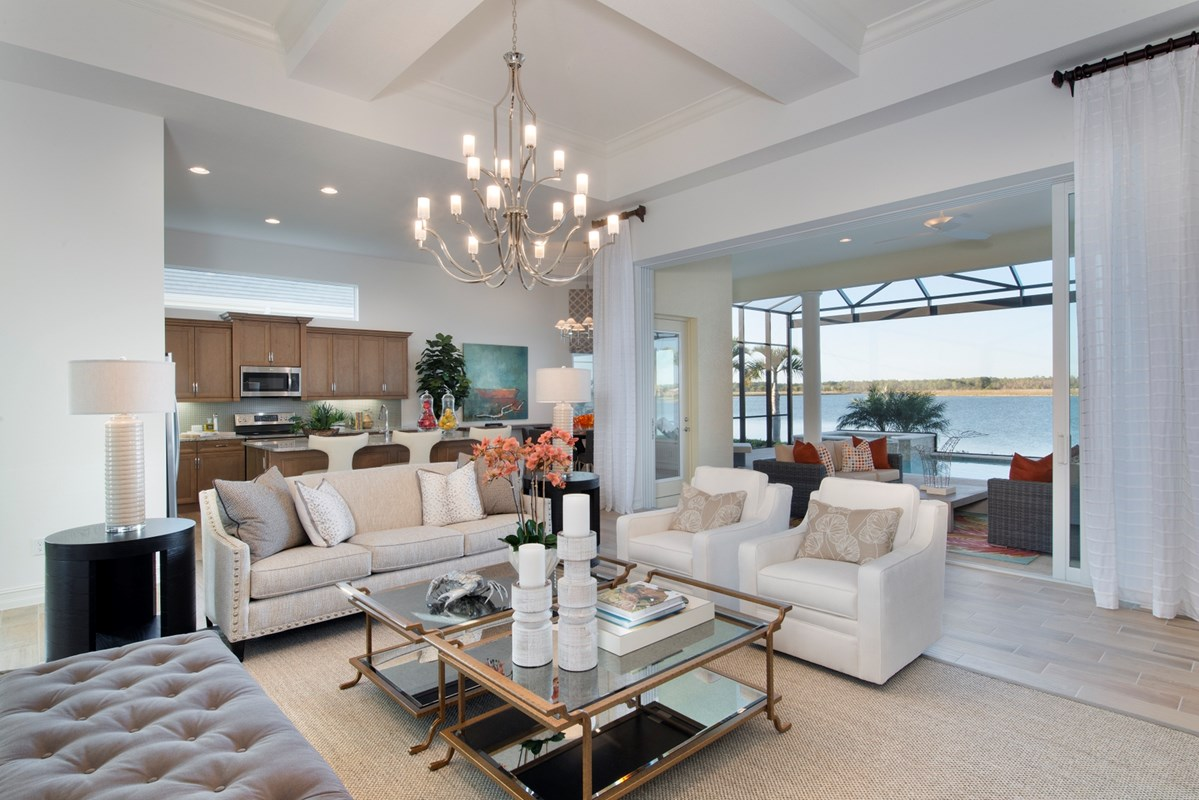 Stock featuring 5 Models During Parade of Homes at Naples Reserve