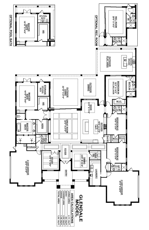 Glendale Floorplan