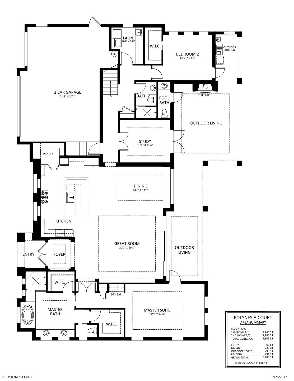 Polynesia Floorplan