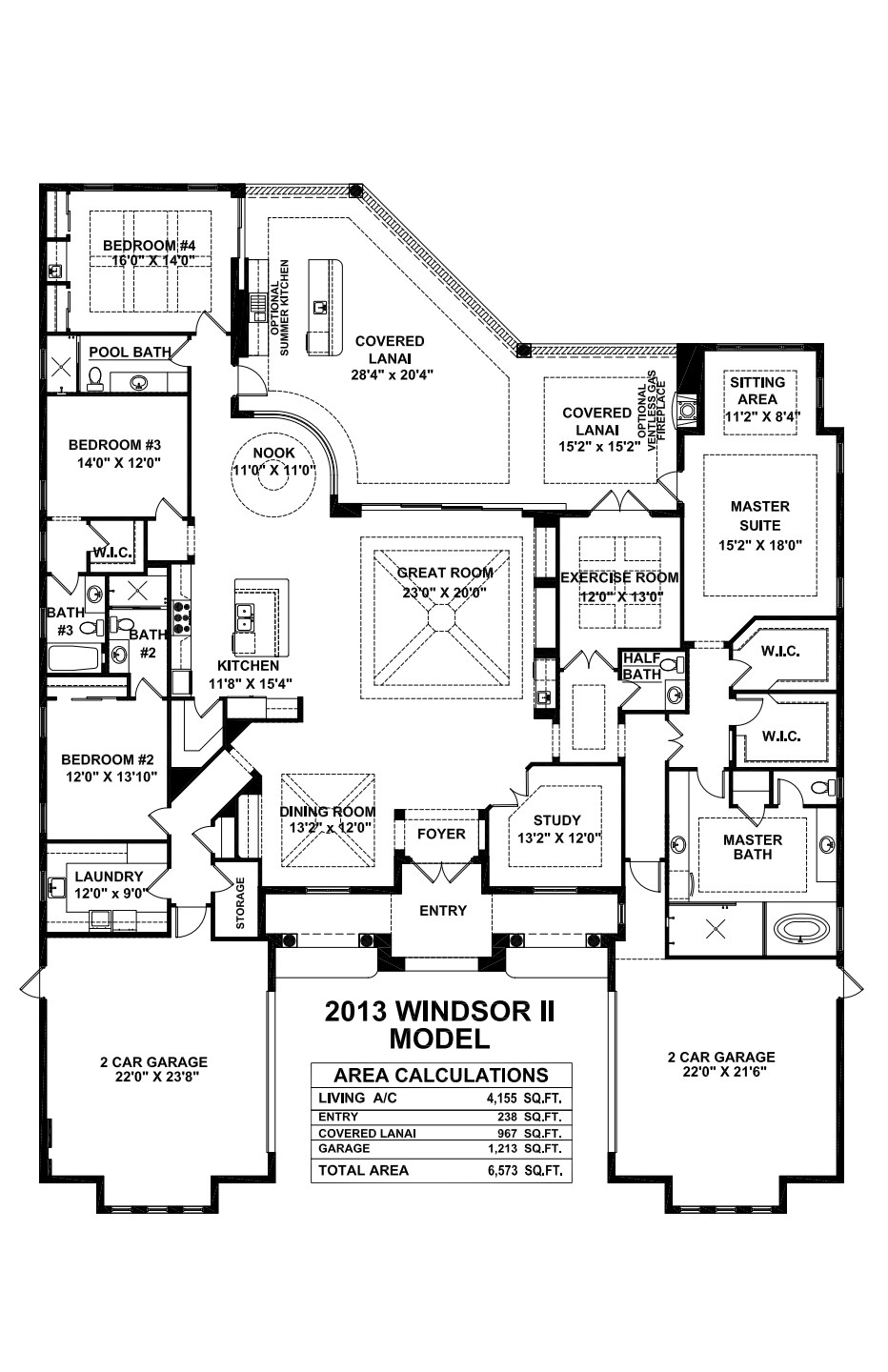 Windsor Ii Floorplan Stock
