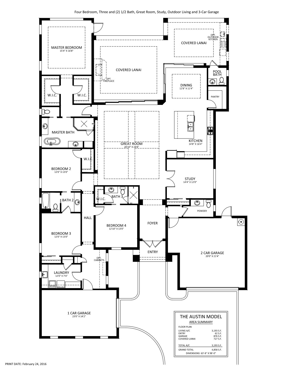 Austin Floorplan Stock
