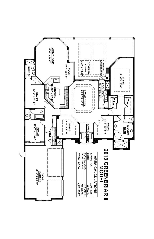 Greenbriar II Floorplan