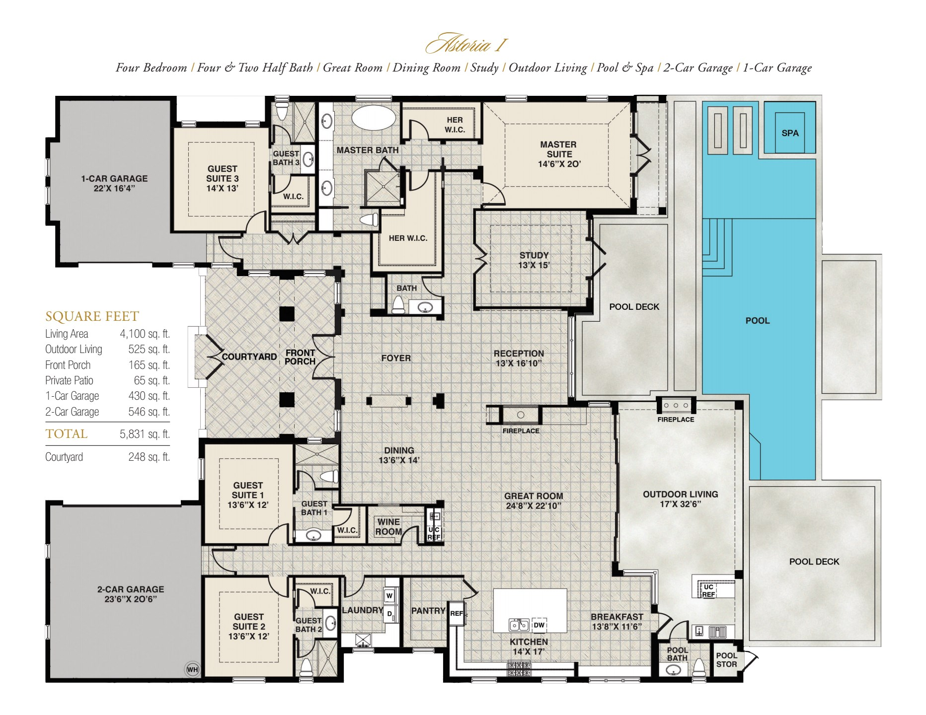 Astoria Floorplan