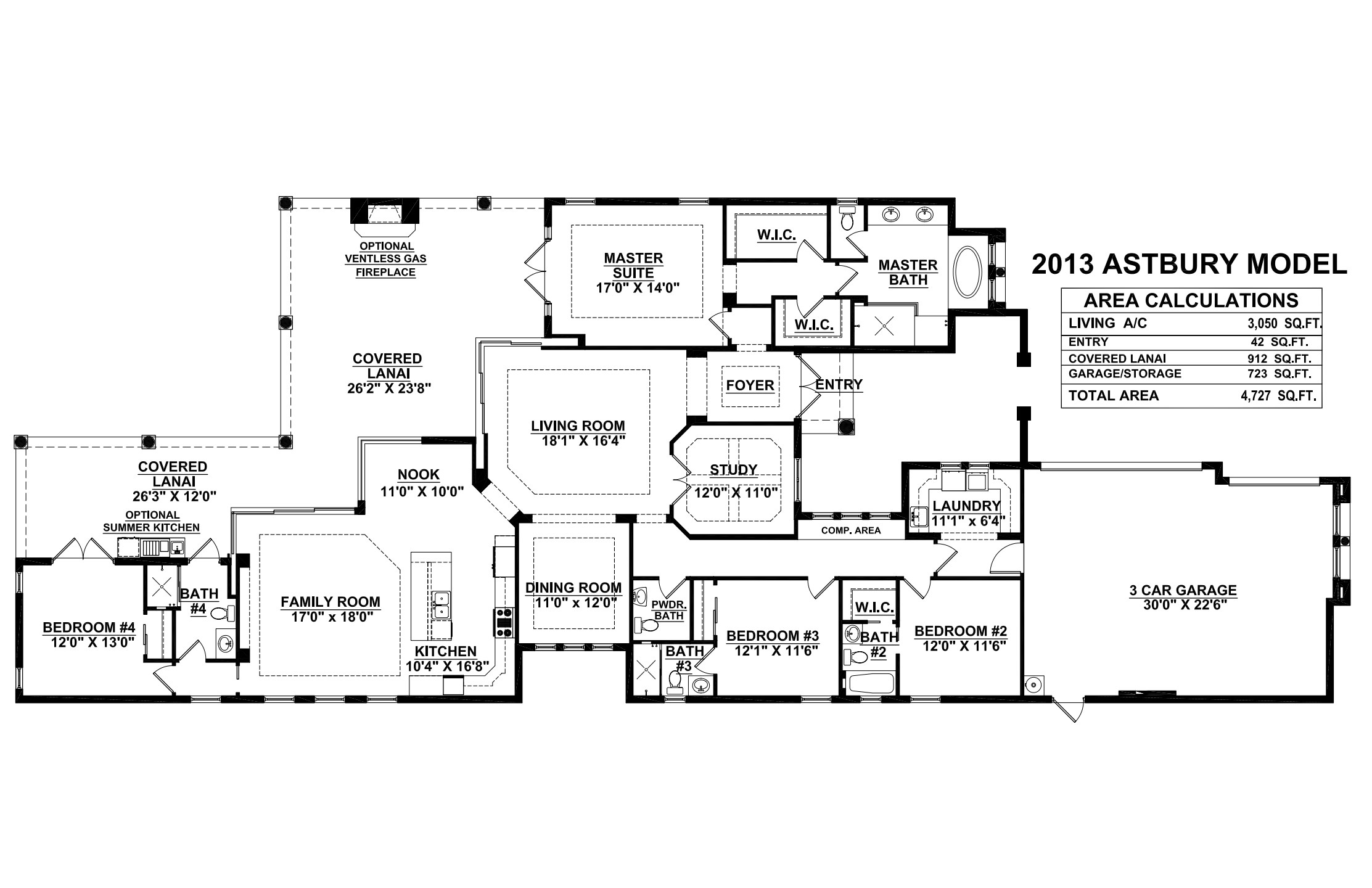 Astbury Floorplan