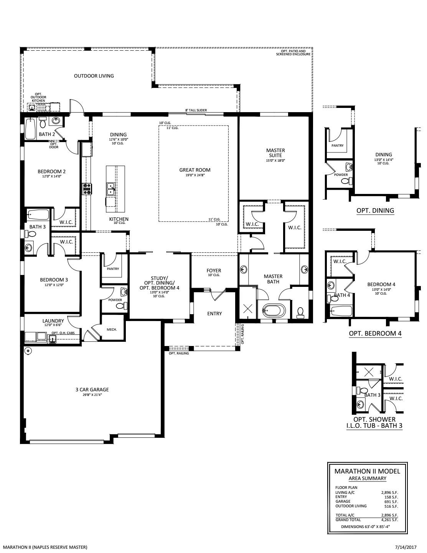 Marathon II Floorplan
