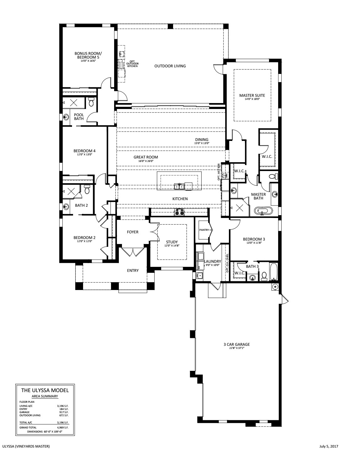 Ulyssa Floorplan