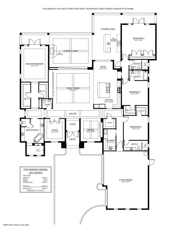 Margo Floorplan