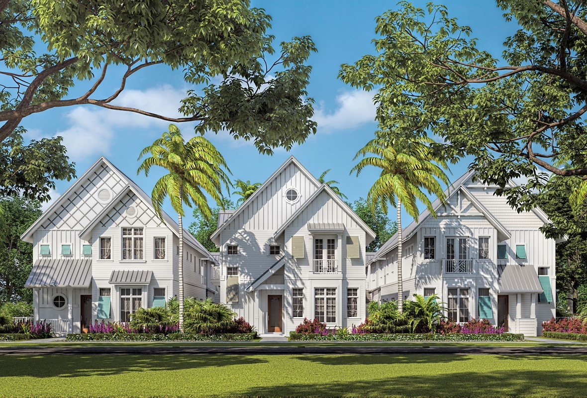 STOCK CUSTOM HOMES PREPARES TO OPEN FIRST OF  THREE 'RESIDENCES ON SIXTH' A Limited Collection of Row Houses In Olde Naples Celebrating Quality Craftsmanship