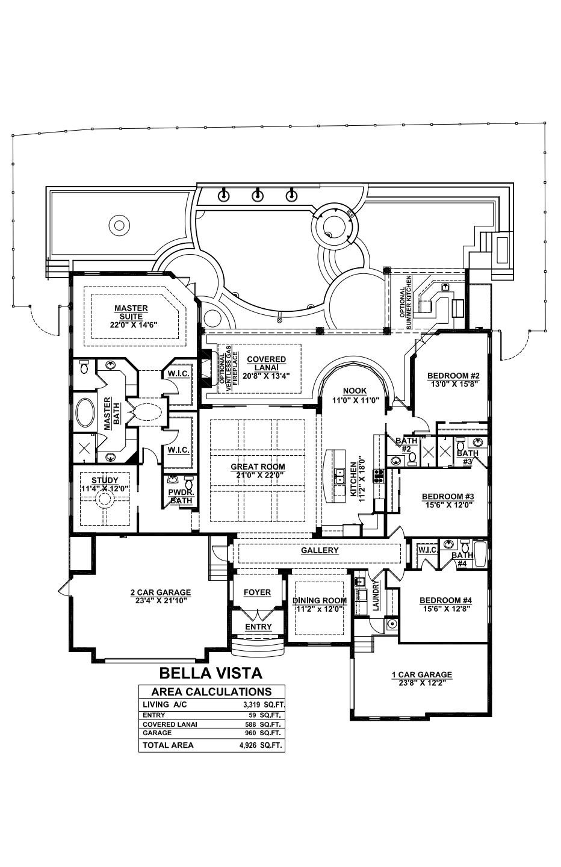 Bella Vista Floor plan