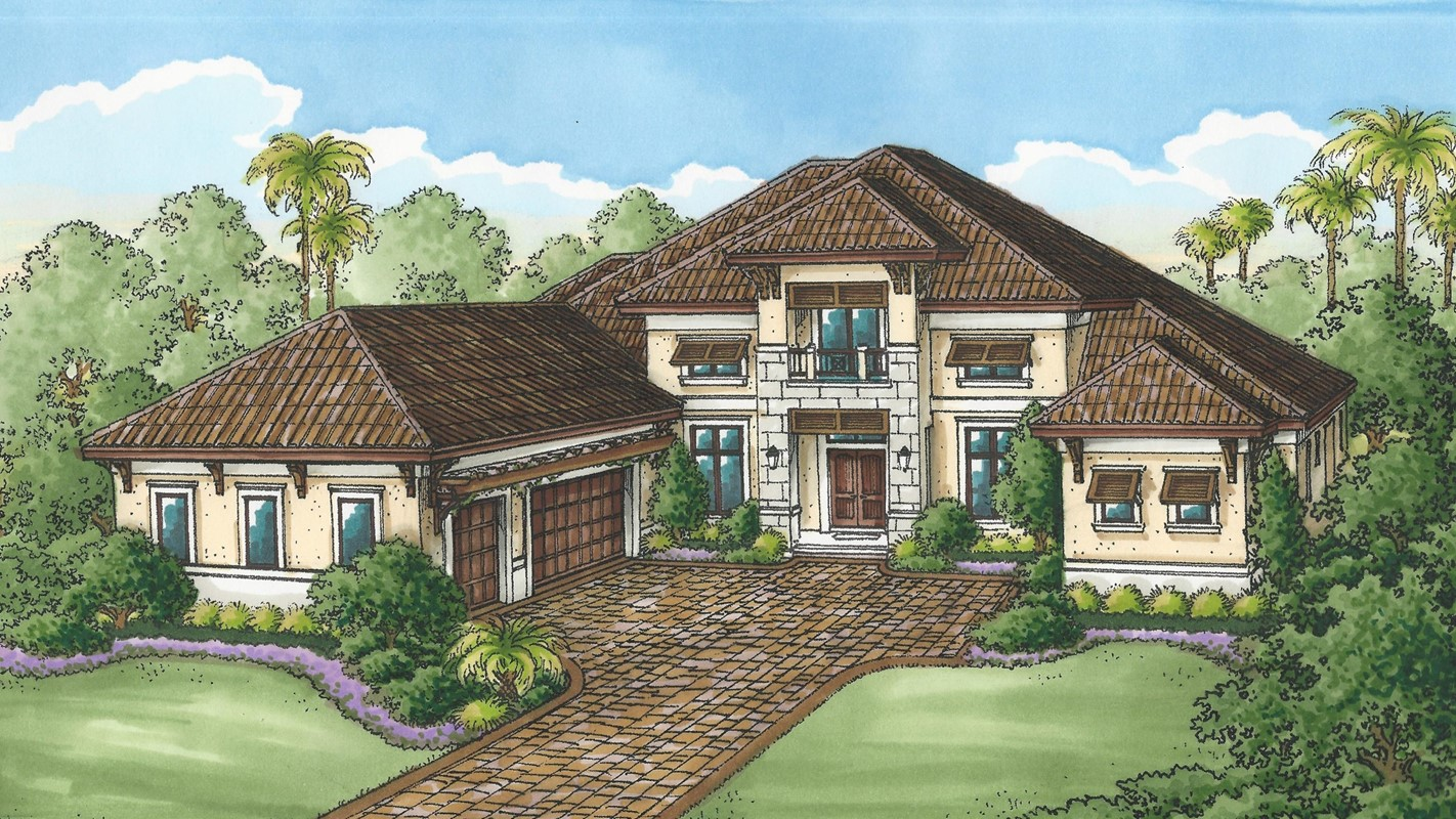 Stock Signature Homes' Muirfield V Available in Quail West -