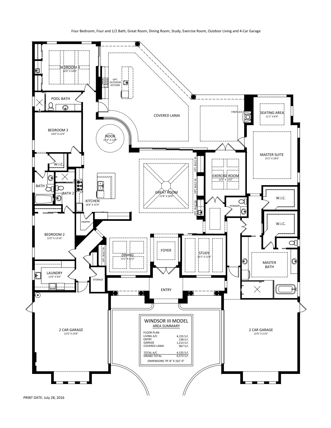 Windsor III Floorplan