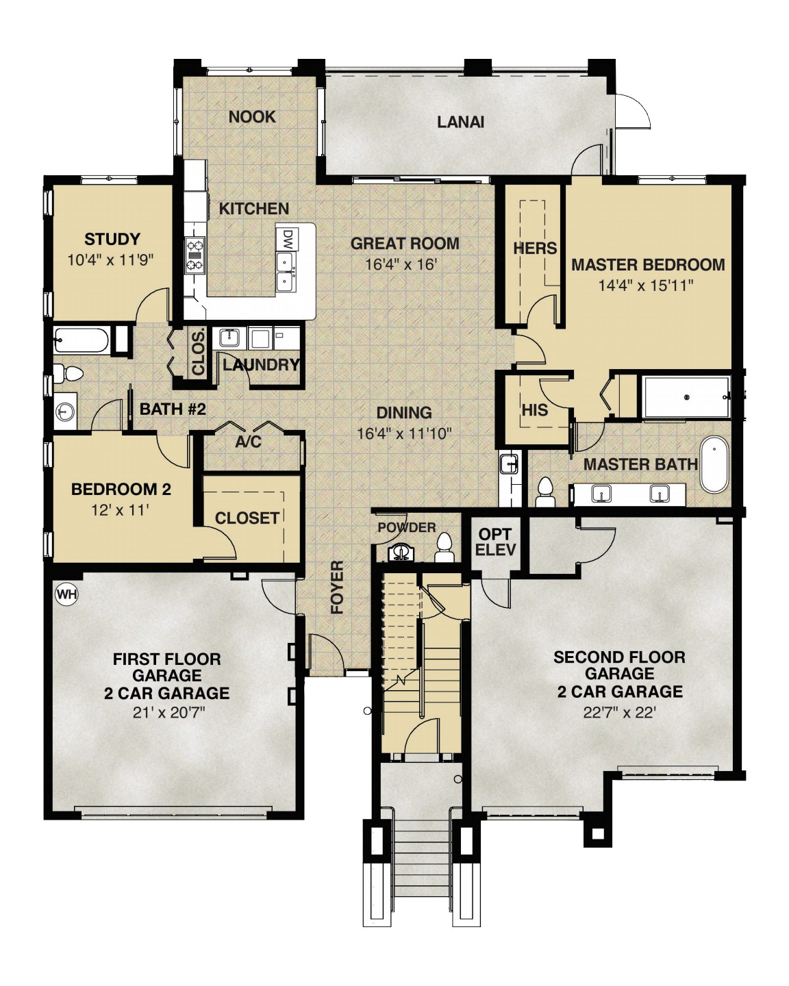 Wentworth Floorplan