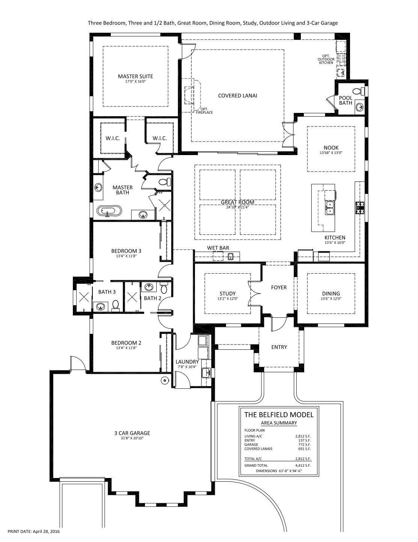 Belfield Floorplan