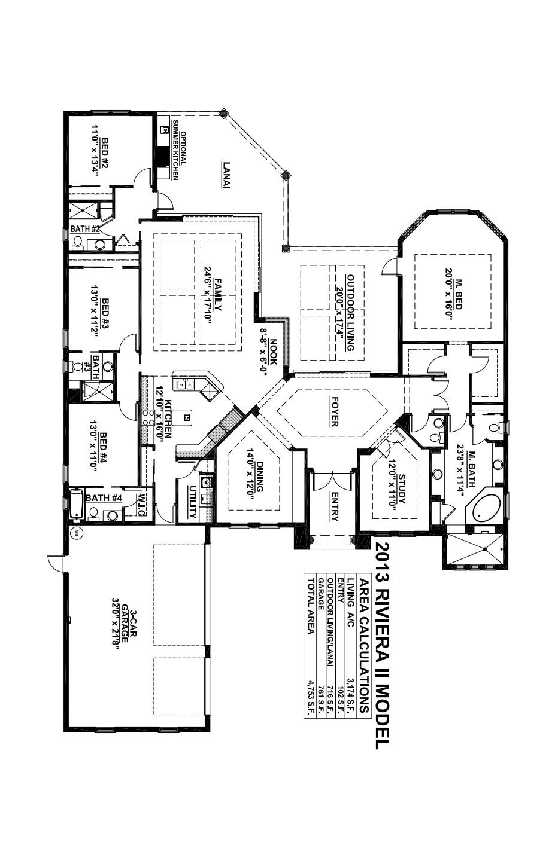 Riviera II Floorplan