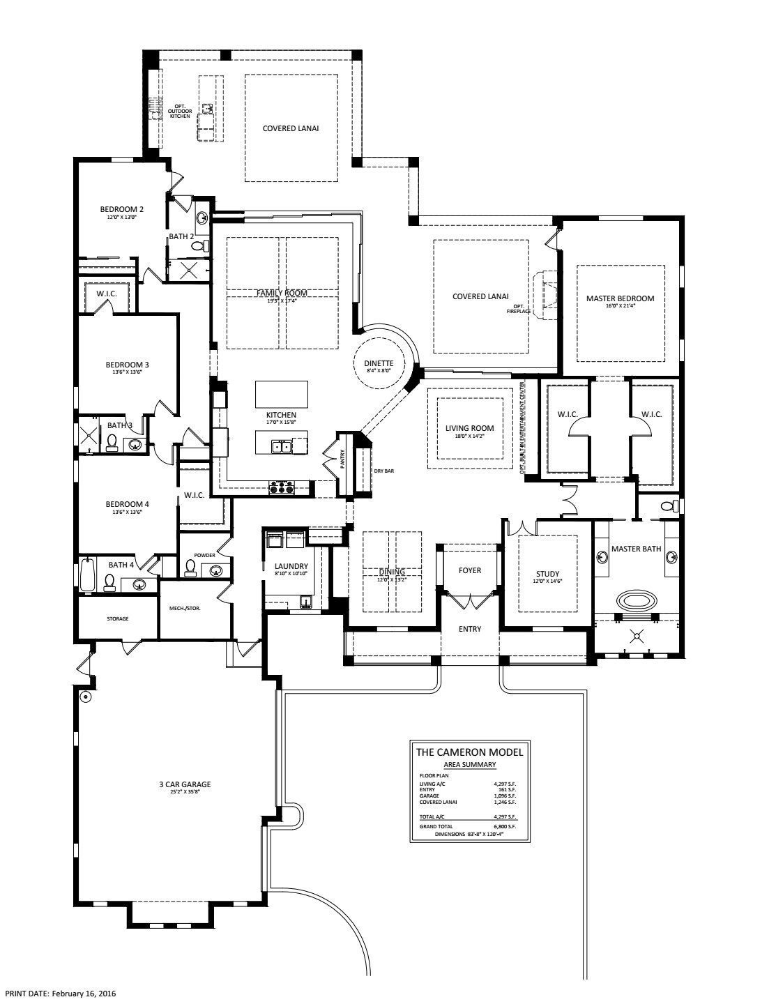 Cameron Floorplan