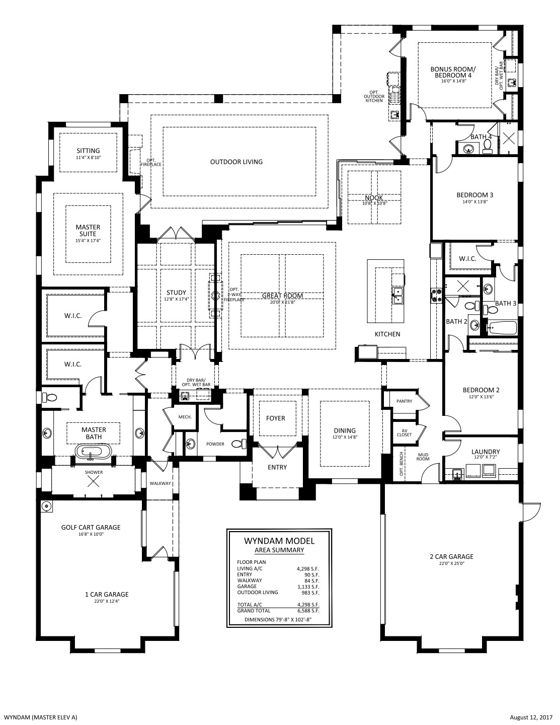 Wyndam Floorplan