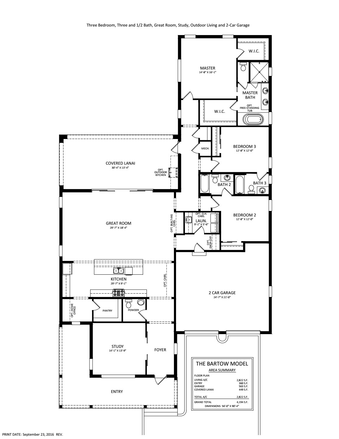 1 on Great Room Floor Plans
