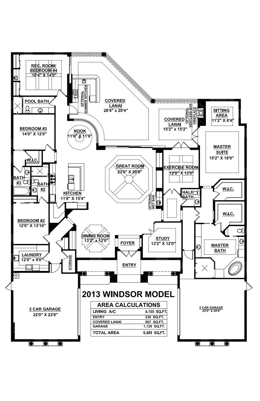Windsor Floorplan