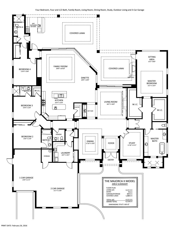 Majorca II Floorplan