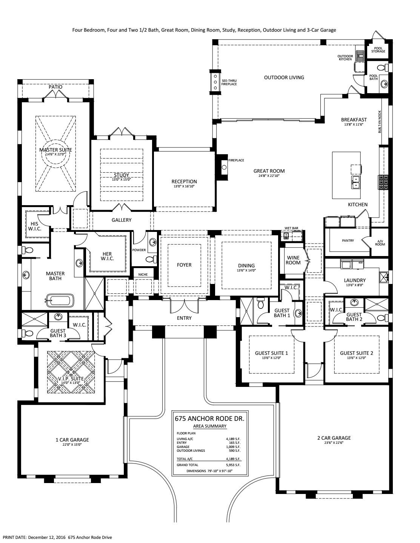 Astoria III Floorplan