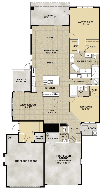Venice (Tasori) II Floorplan