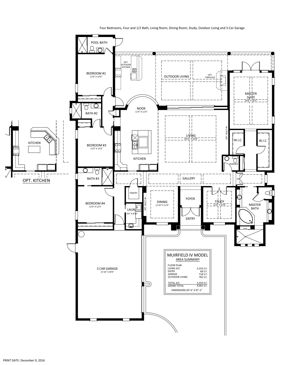 Muirfield IV Floorplan