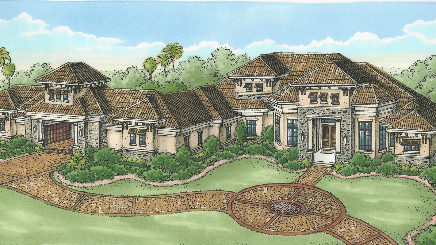 Stock's Cortona II Inventory Home Completed in Quail West