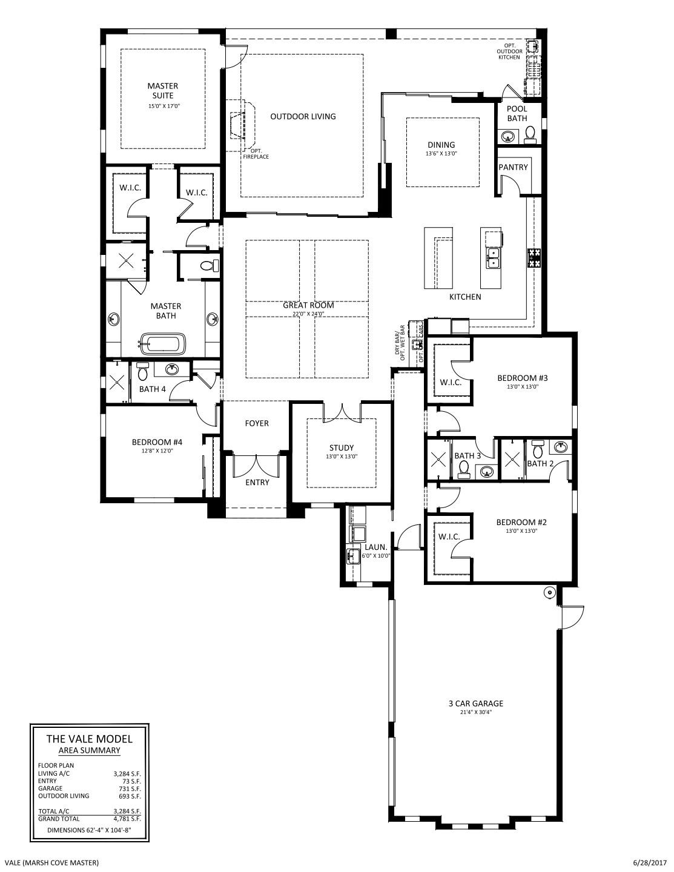 Vale Floorplan