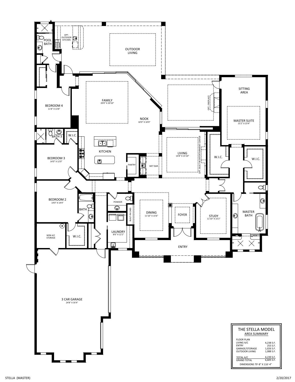 Stella Floorplan