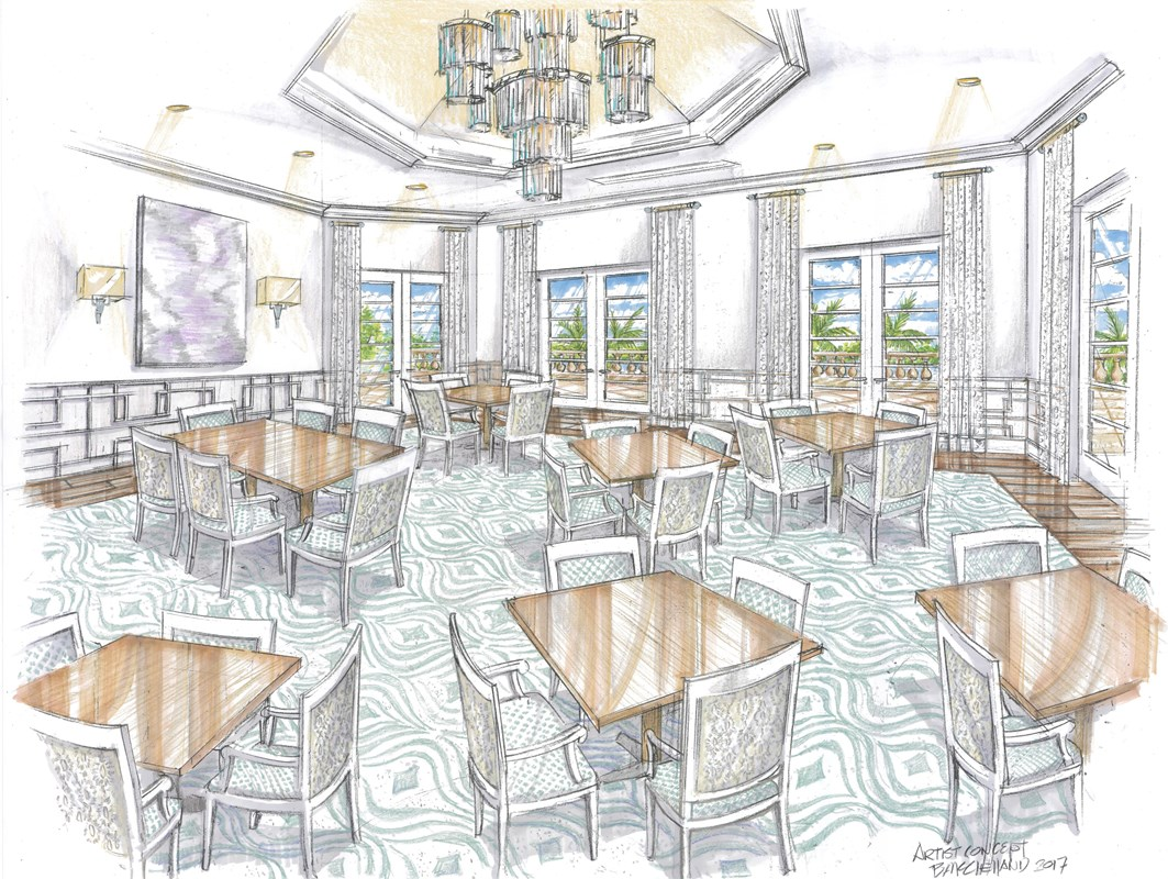 THE LAKE CLUB AT LAKEWOOD RANCH ANNOUNCES RENOVATIONS TO  GRANDE CLUBHOUSE