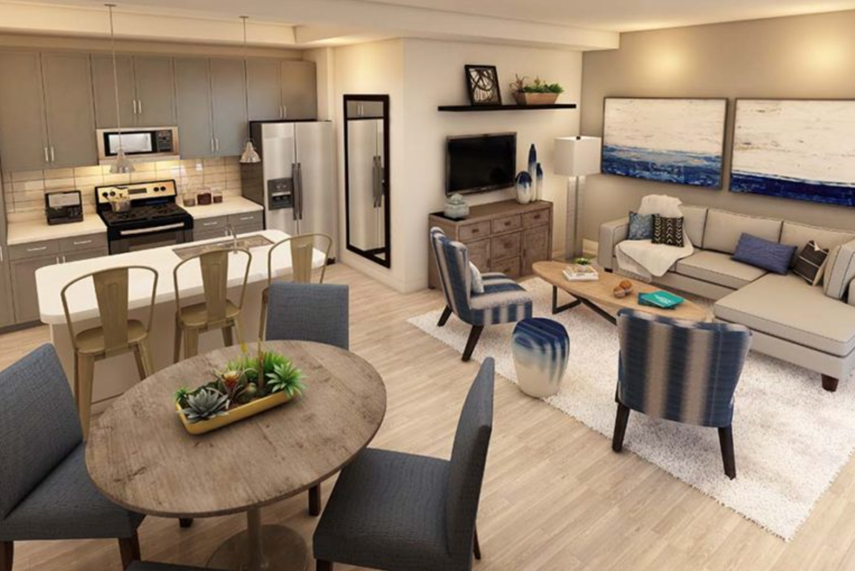 First Residents Move Into Inspira Apartments: Leasing Office Opens On-site.