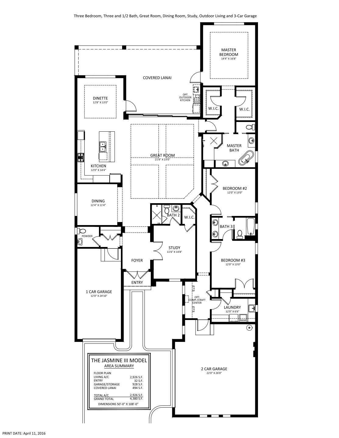 Jasmine Iii Floorplan Stock