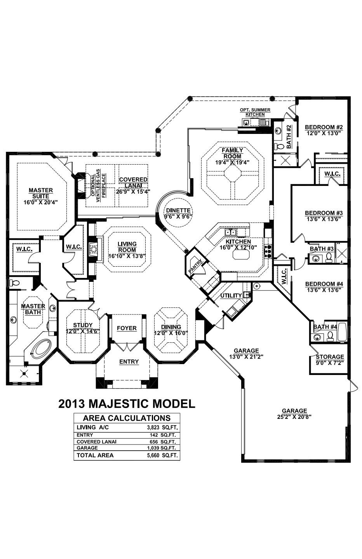 Majestic Floorplan