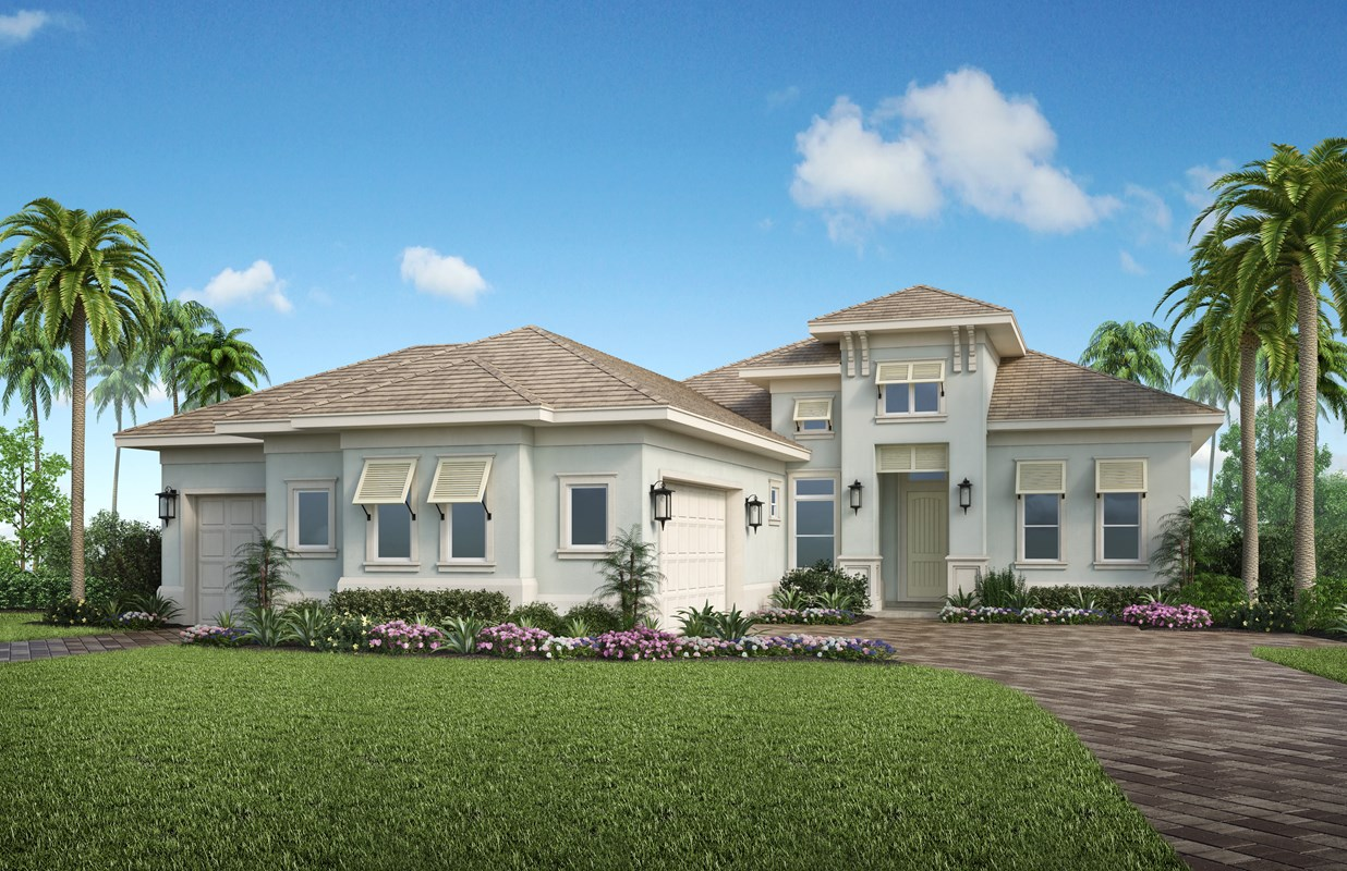 Stock Models in Sparrow Cay at  Naples Reserve Opening this Month