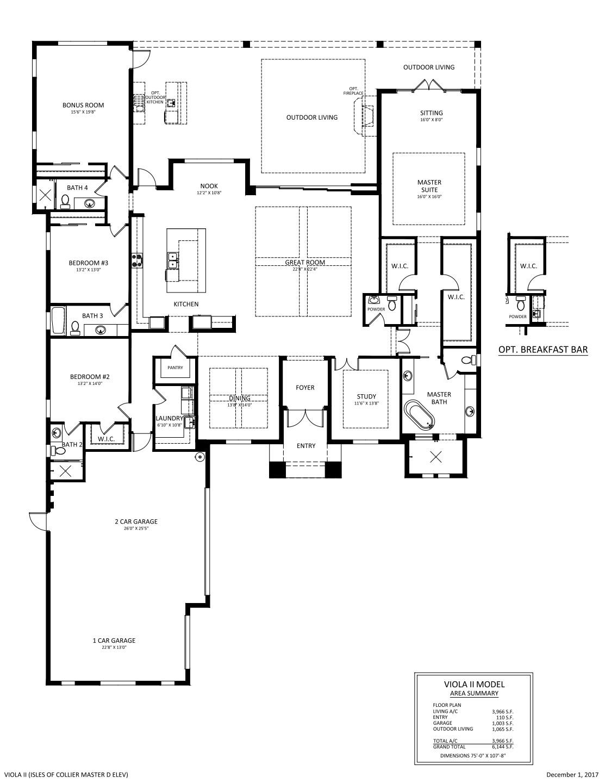 Viola II Floorplan