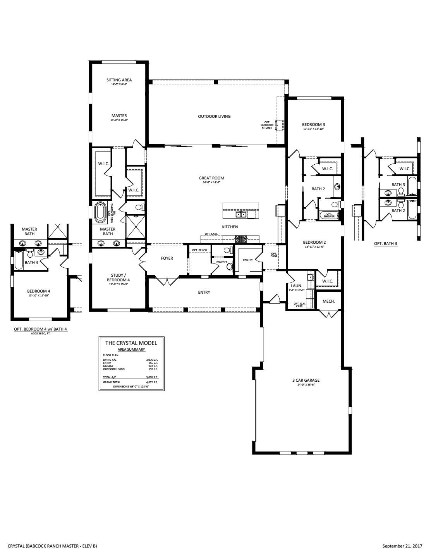 Crystal Floorplan