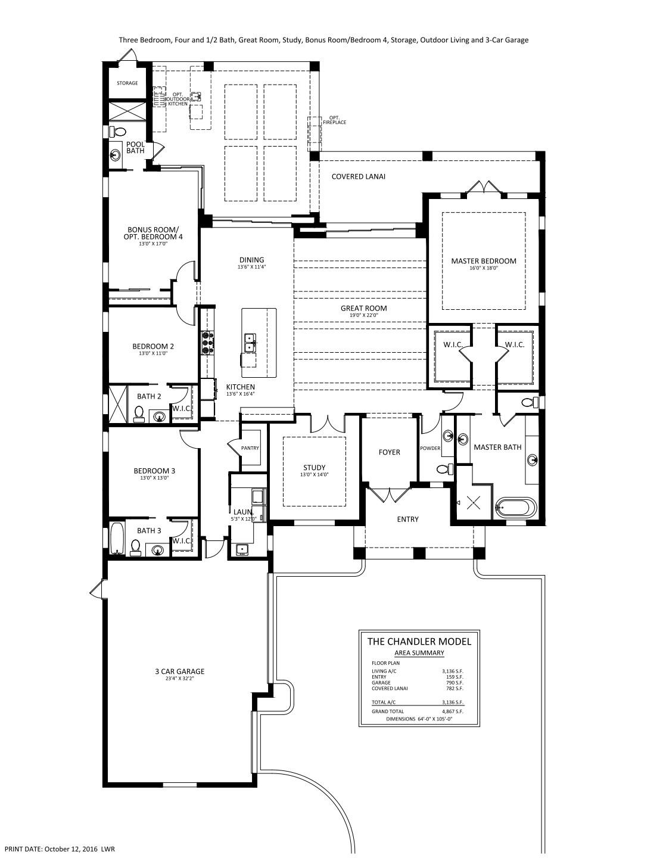Chandler Floorplan