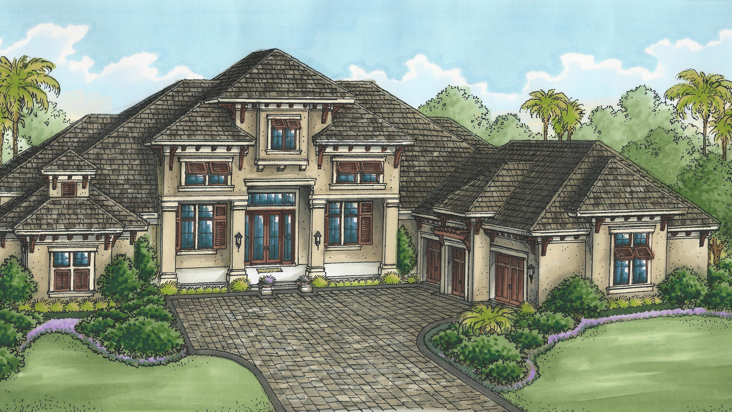Floorplan details quail west for Grayson home
