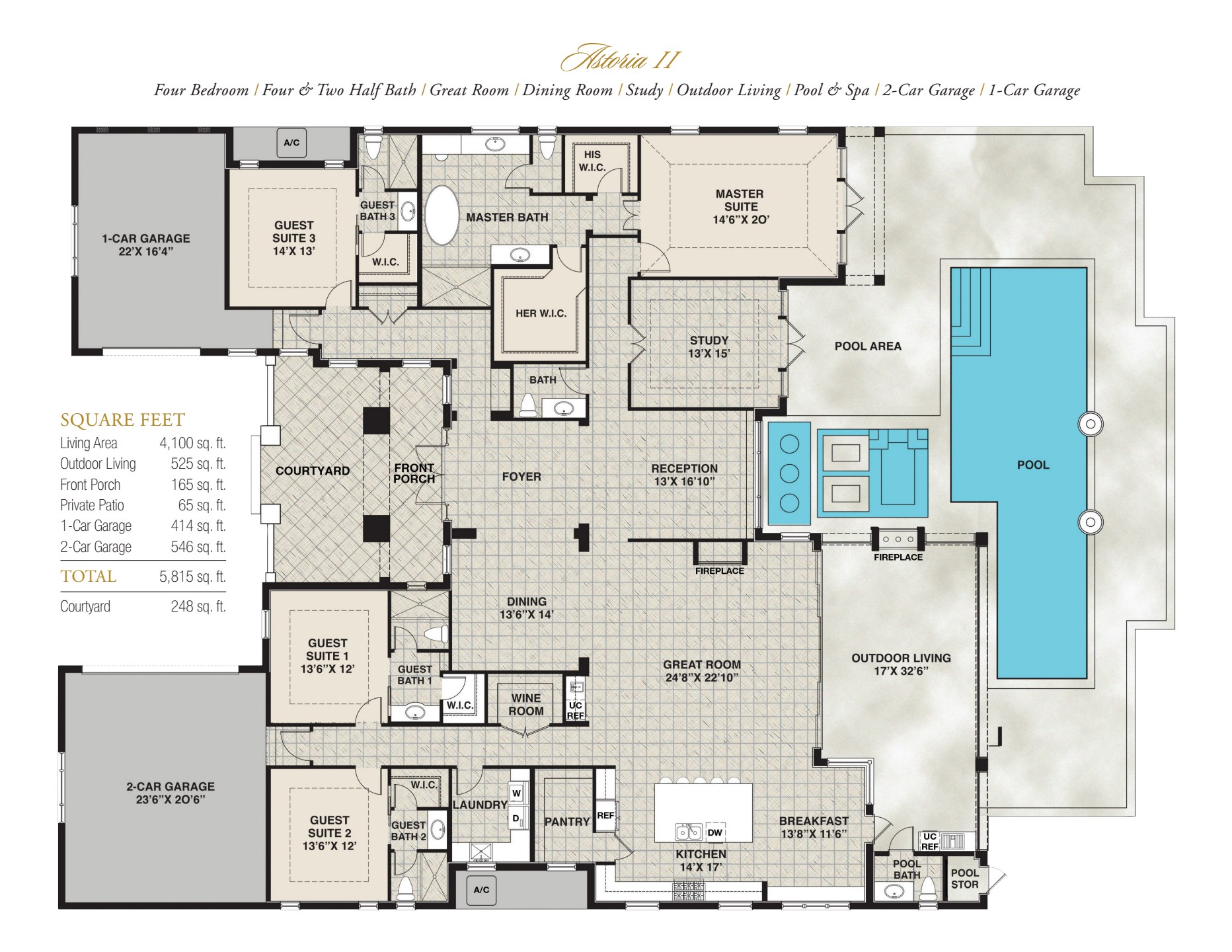 Astoria II Floorplan