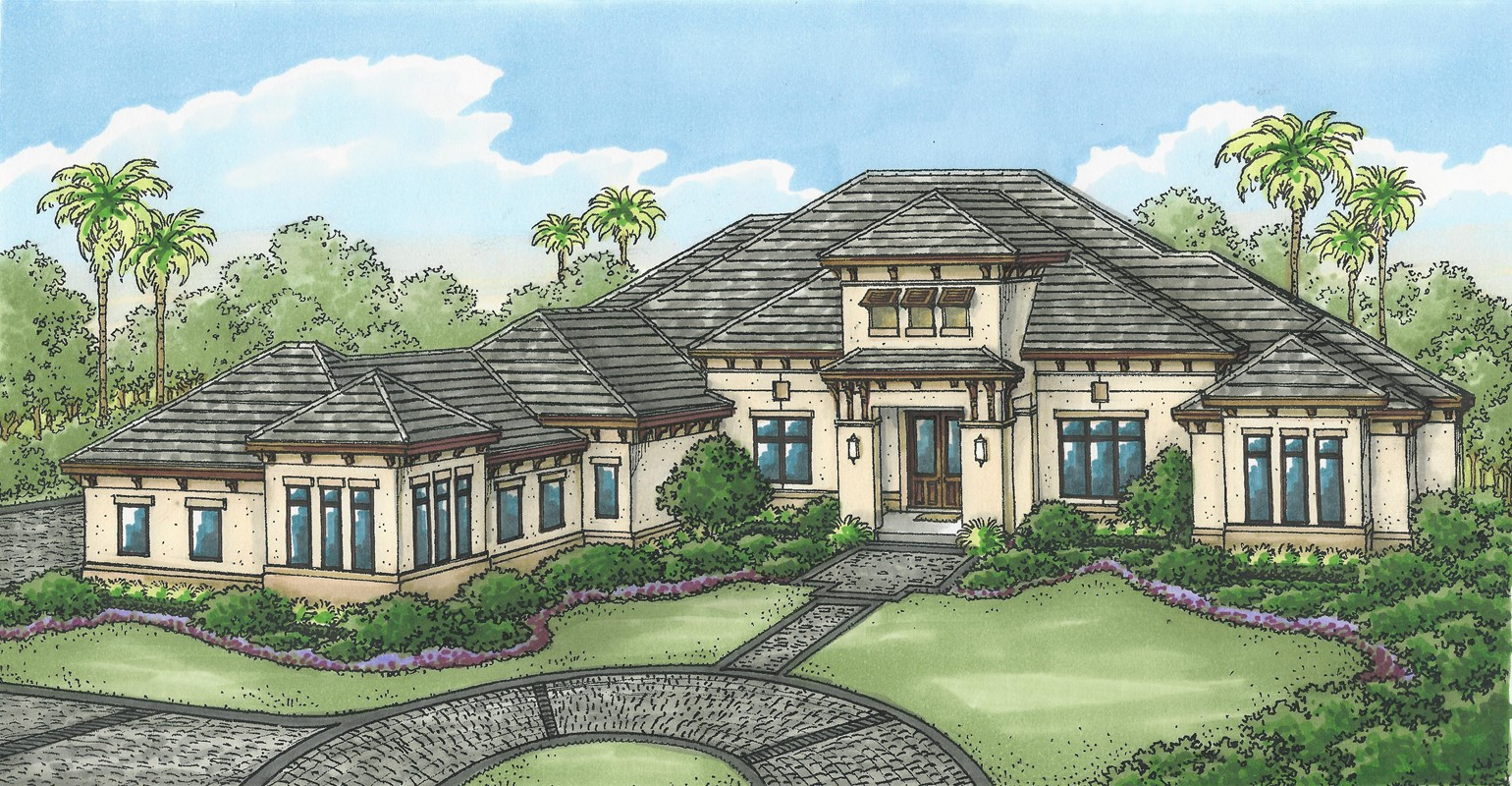 Stock's Atherton Model  Under Construction in Quail West