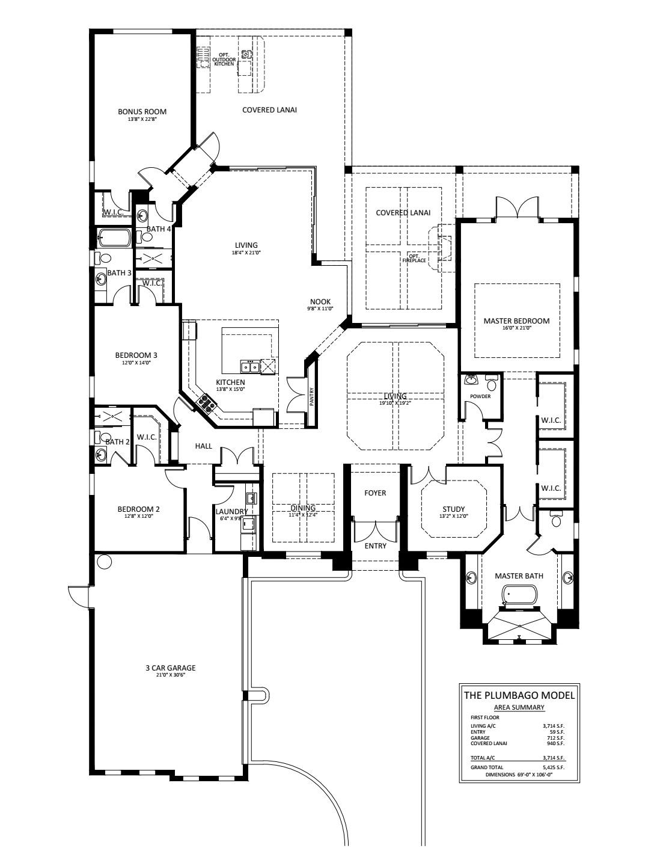 Plumbago Floorplan