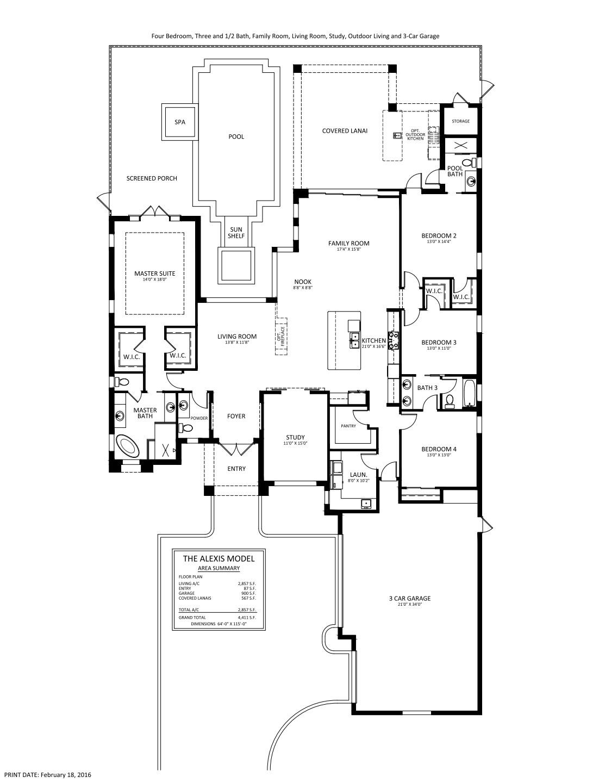 Alexis Floorplan