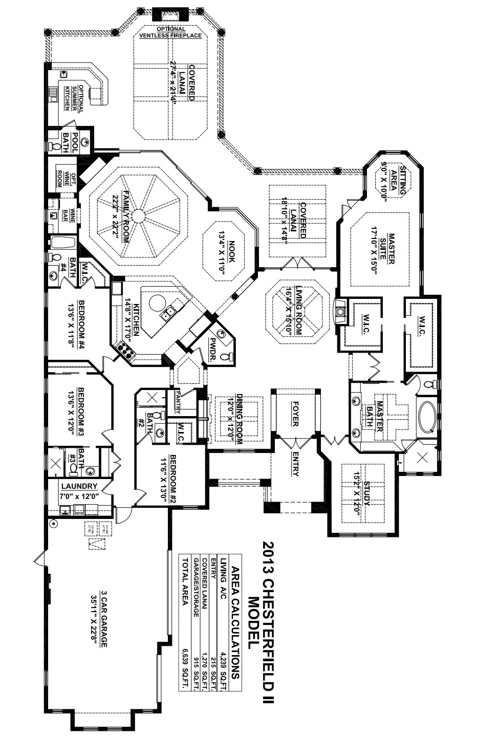 Chesterfield II Floorplan