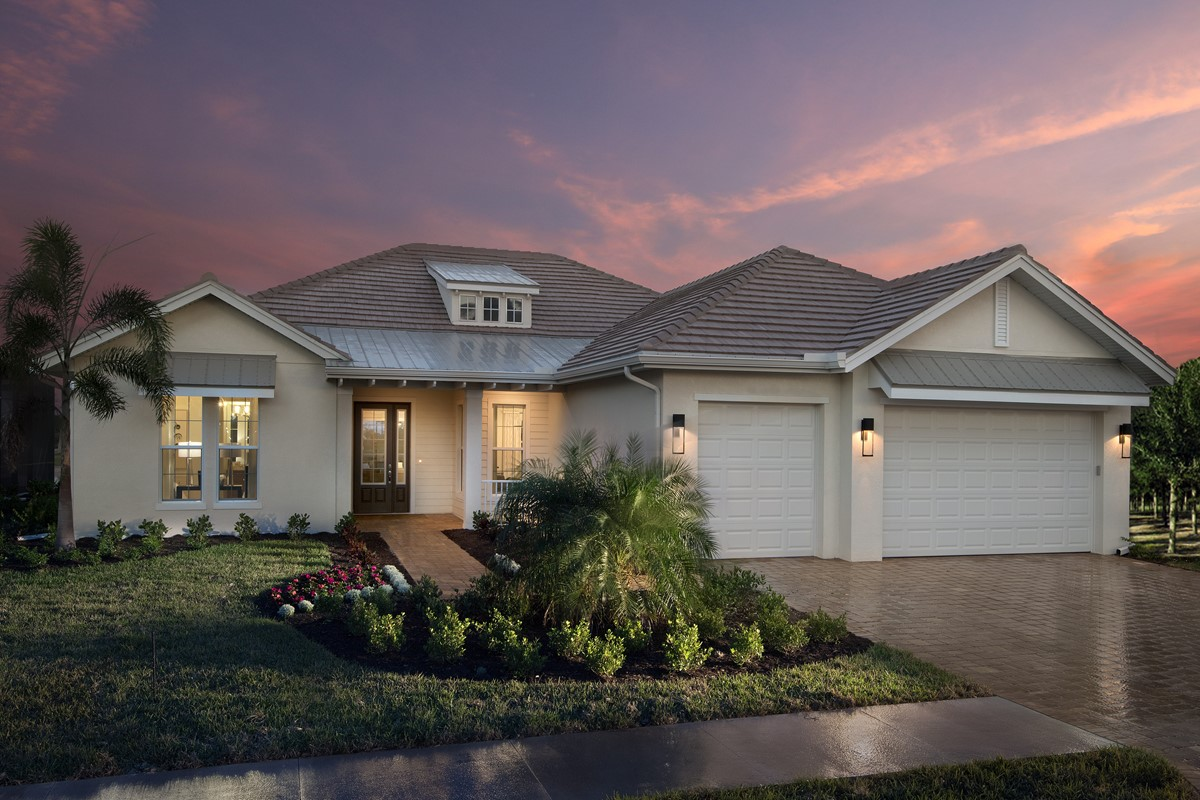 Stock Classic Homes Models Have Been Unveiled at Naples Reserve - During CBIA Single Site Parade Of Homes