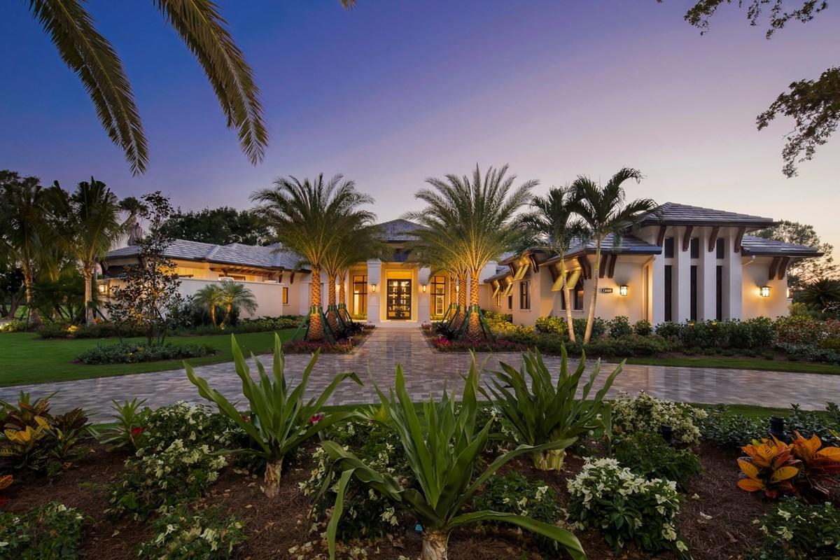 Quail West Showcasing Three Grand Estate Models by Seagate