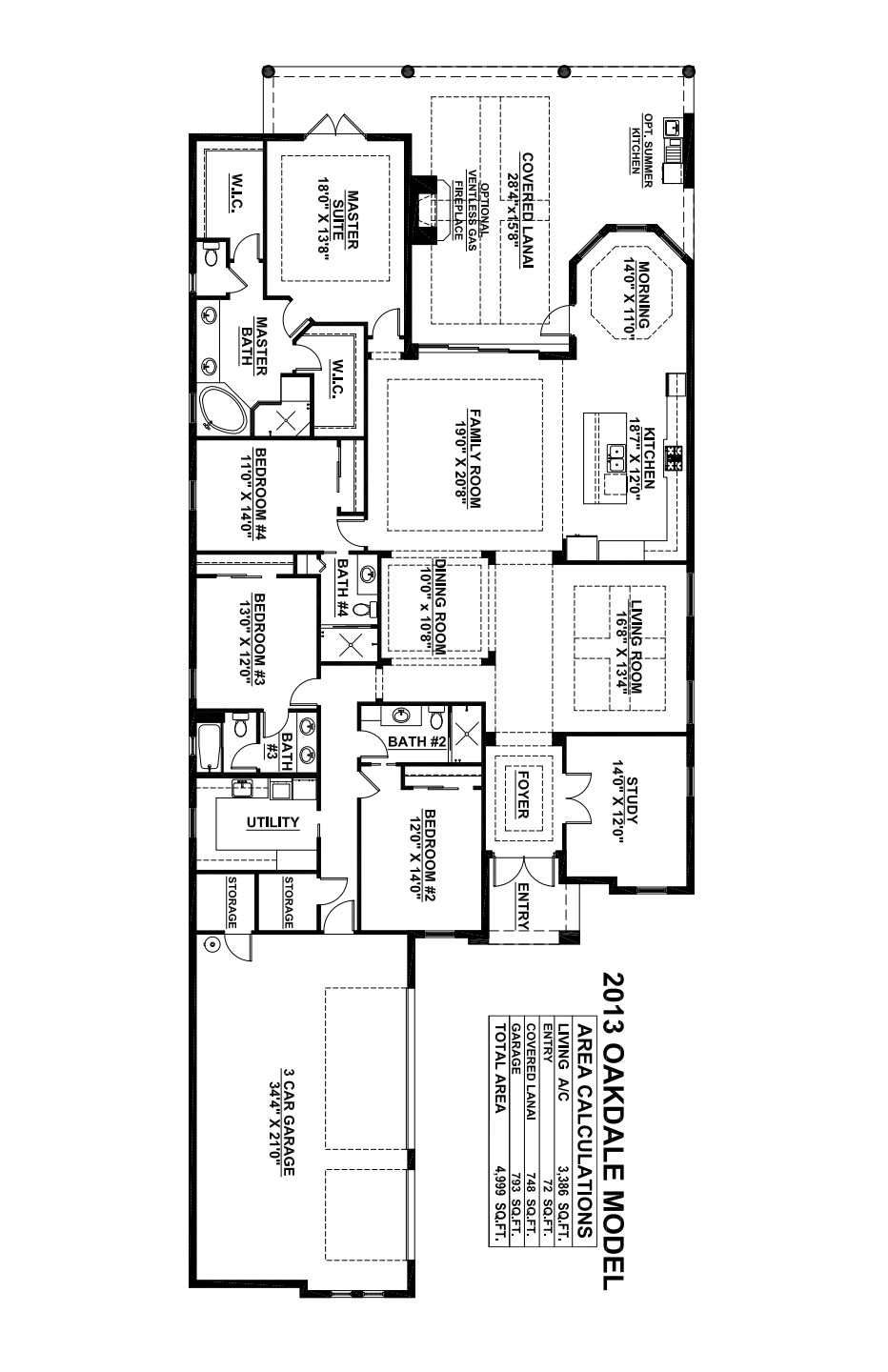 Oakdale Floorplan