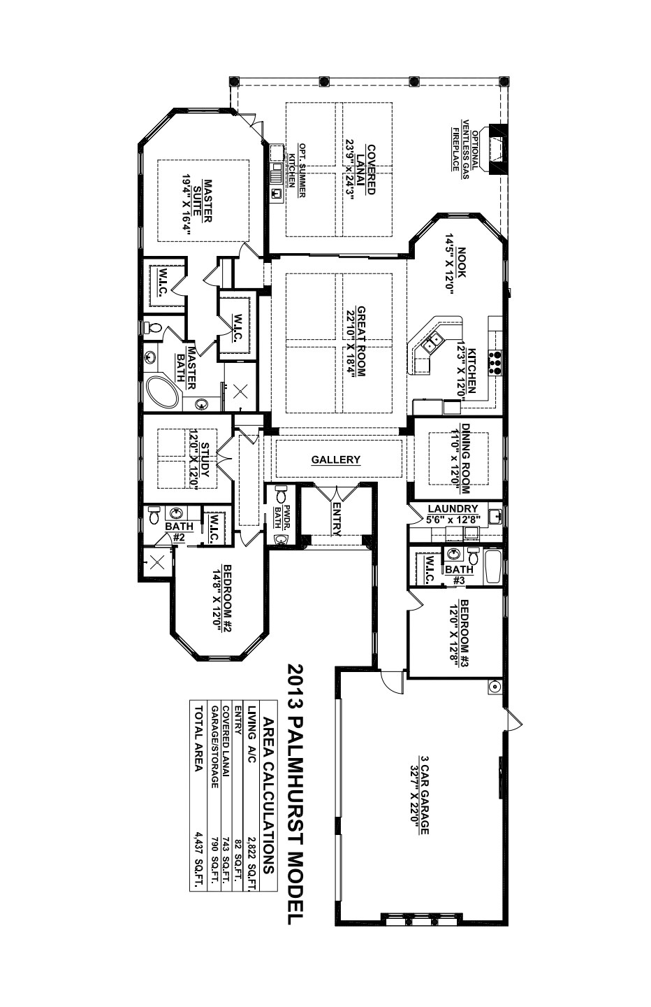 Palmhurst Floorplan Stock